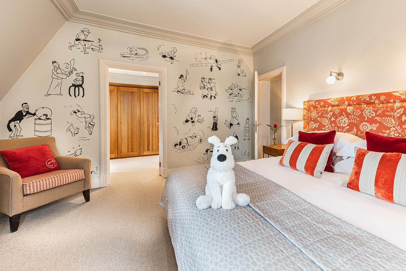 """""""Tintin"""" Signature Suite in Hotel Amigo"""