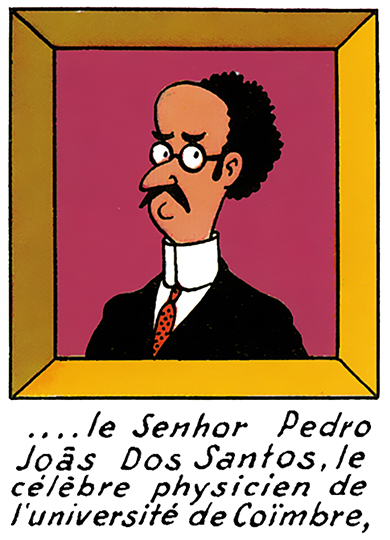 l'éminent professeur Pedro Joãs Dos Santos