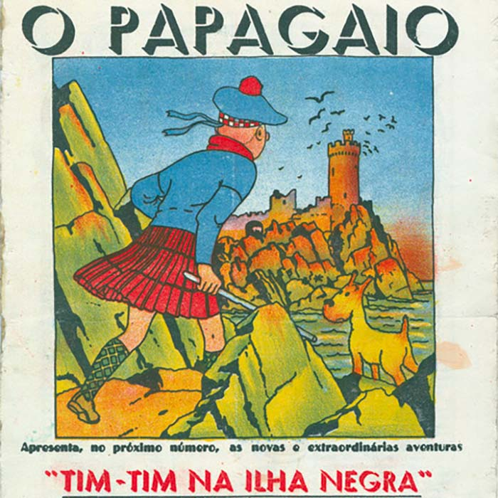 Tintin and Portugal