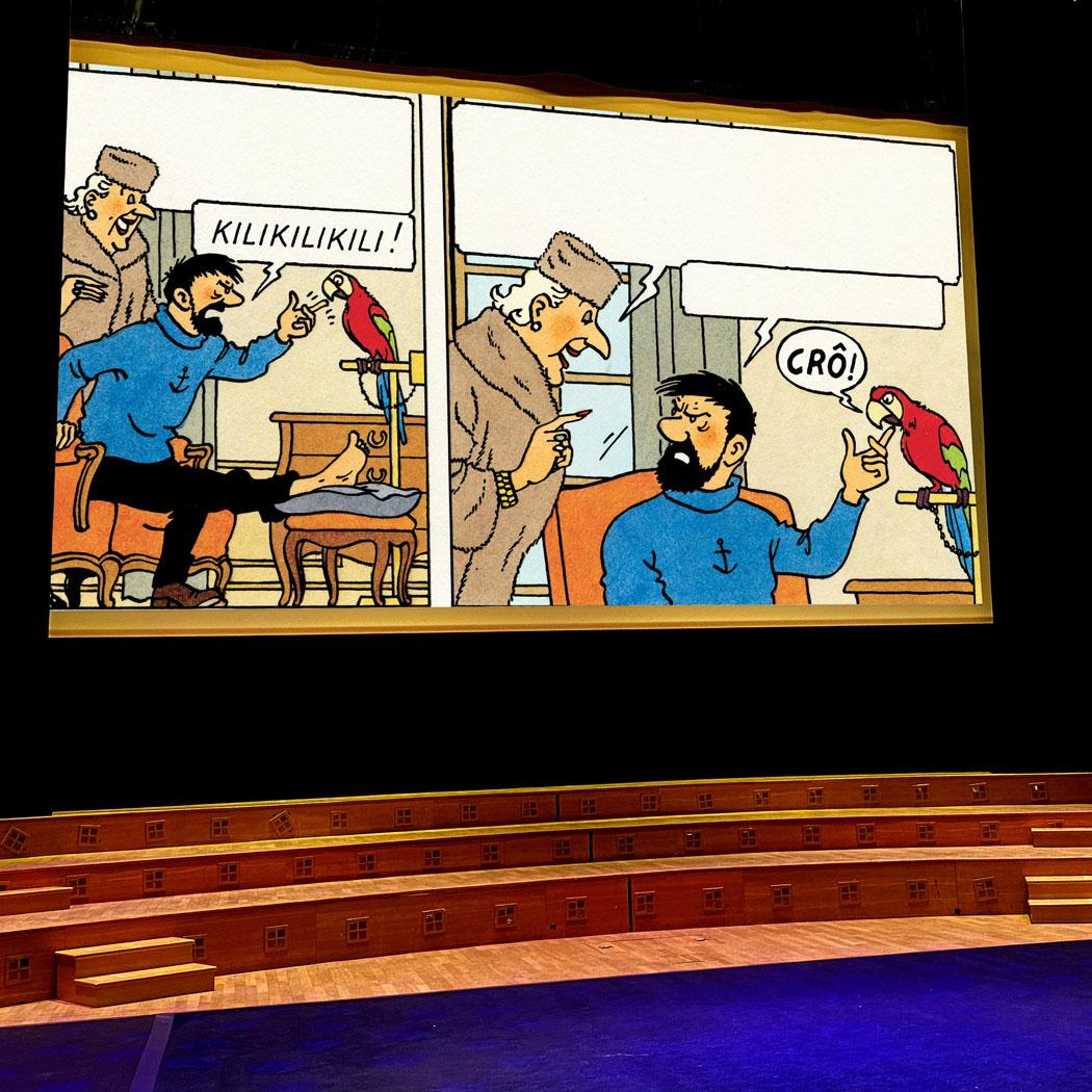 Tintin still delights children