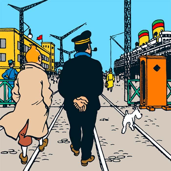 Comment Tintin est revenu à Saint-Nazaire
