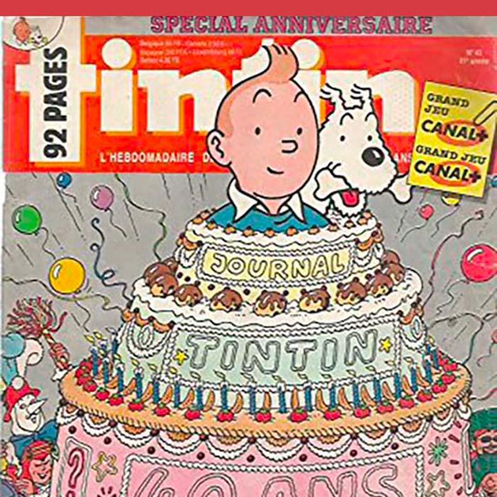 Le Journal Tintin, 75 ans de divertissement et de savoir