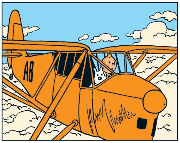 Cigars of the Pharaoh orange plane