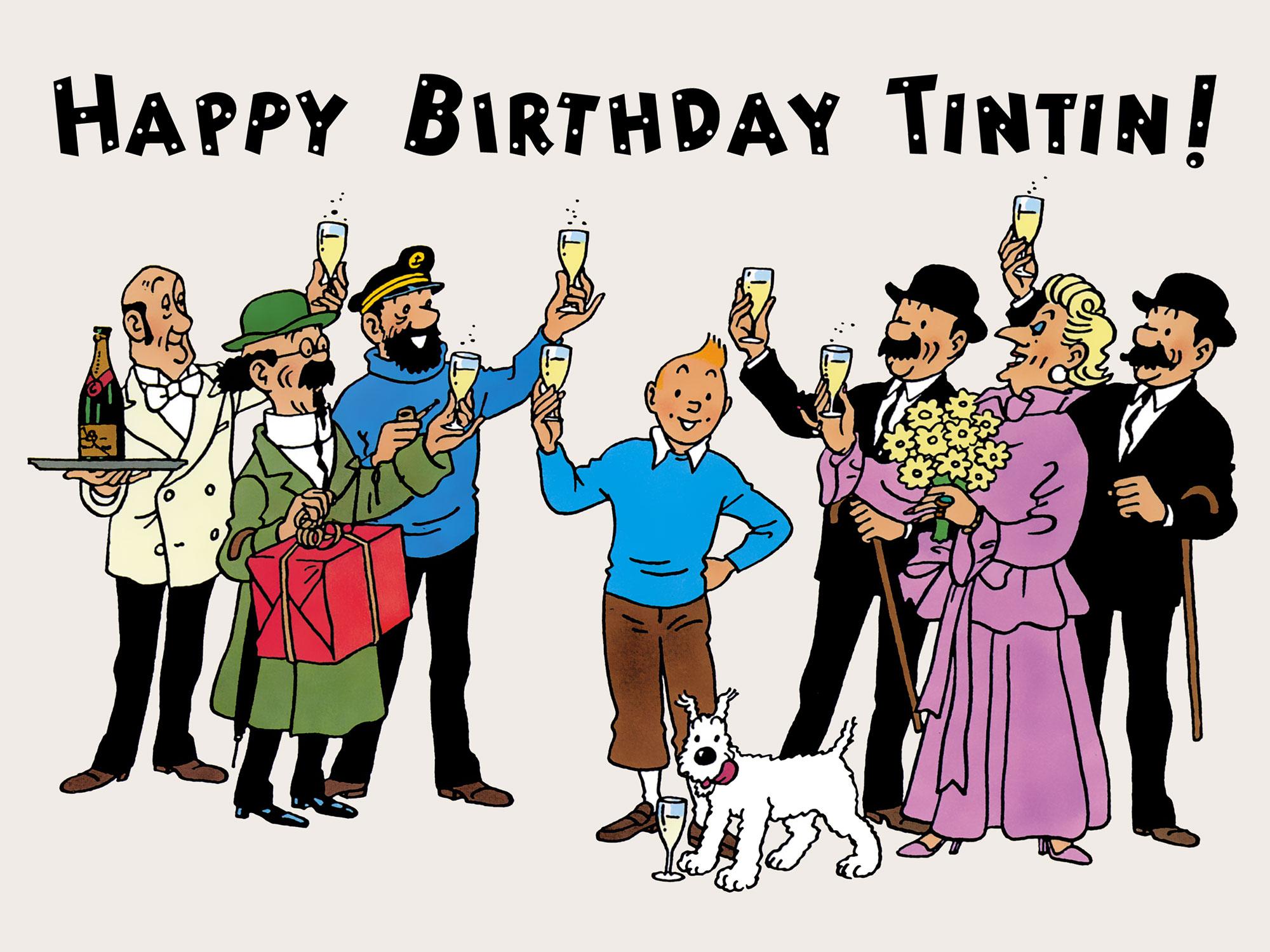 tintin happy birthday