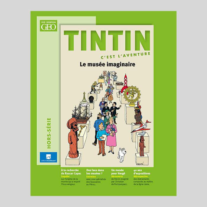 Avec Tintin pour guide, embarquez pour une aventure exceptionnelle dans le monde de l'art et des musées !
