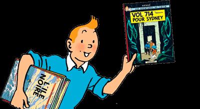 Till Tintins sida