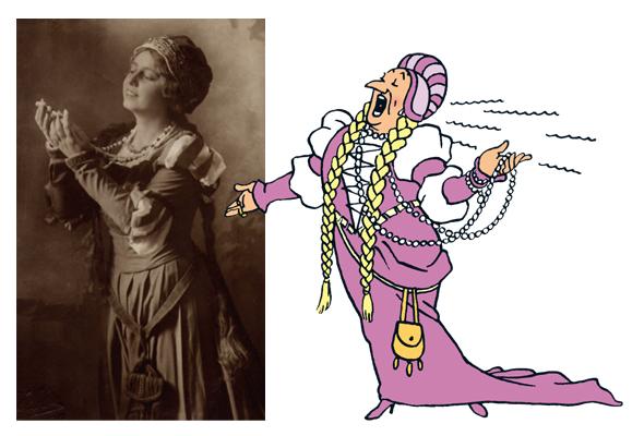 Elisabeth Schumann interprétant l'air des Bijoux