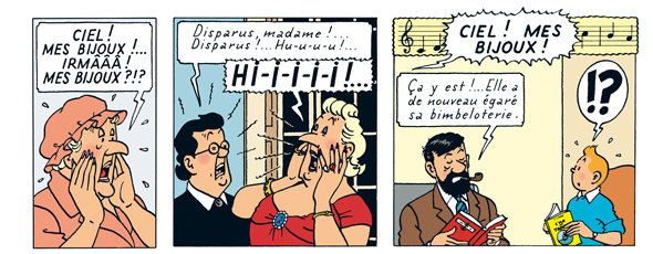 Tintin - Les Aventures de Tintin - Bianca Castafiore