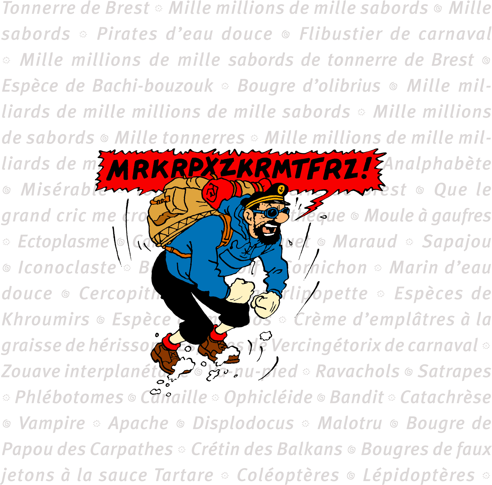 Captain Haddock expletives