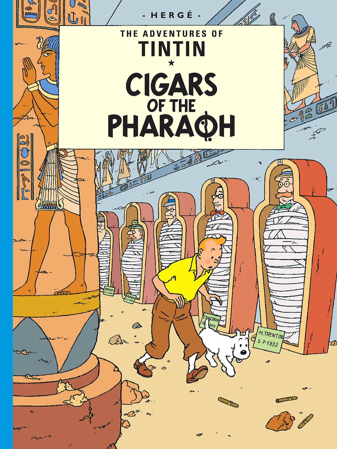 Cigars of the Pharaoh - Cover