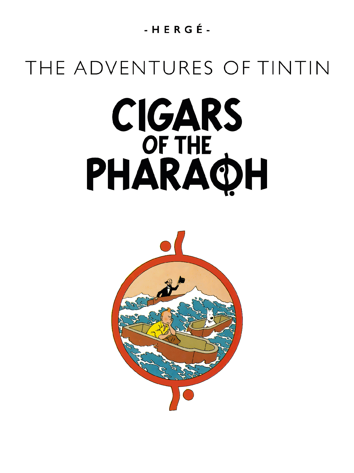 Cigars of the Pharaoh - Title page