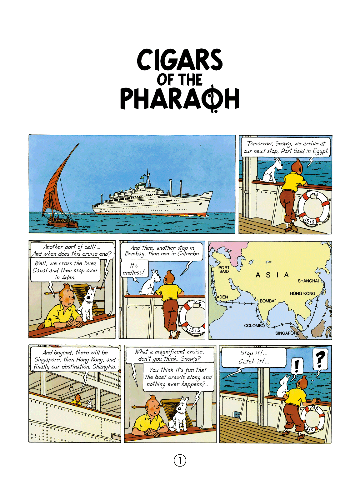 Cigars of the Pharaoh - Page 1