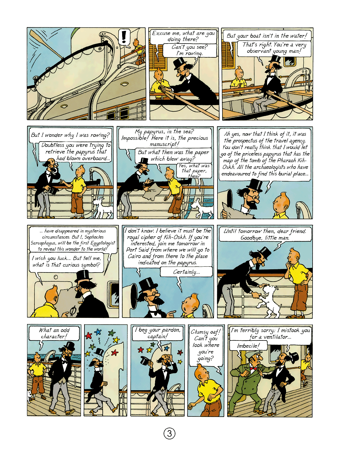 Cigars of the Pharaoh - Page 3
