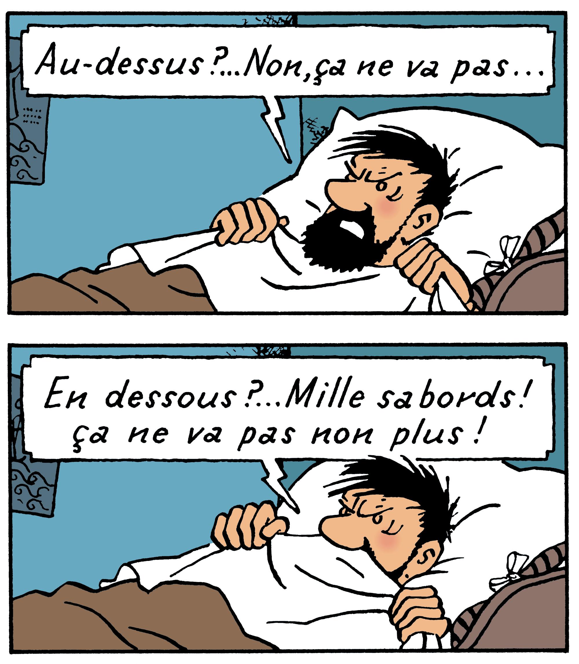 Tintin - Les Aventures de Tintin - Coke en Stock - Personnage Capitaine Haddock