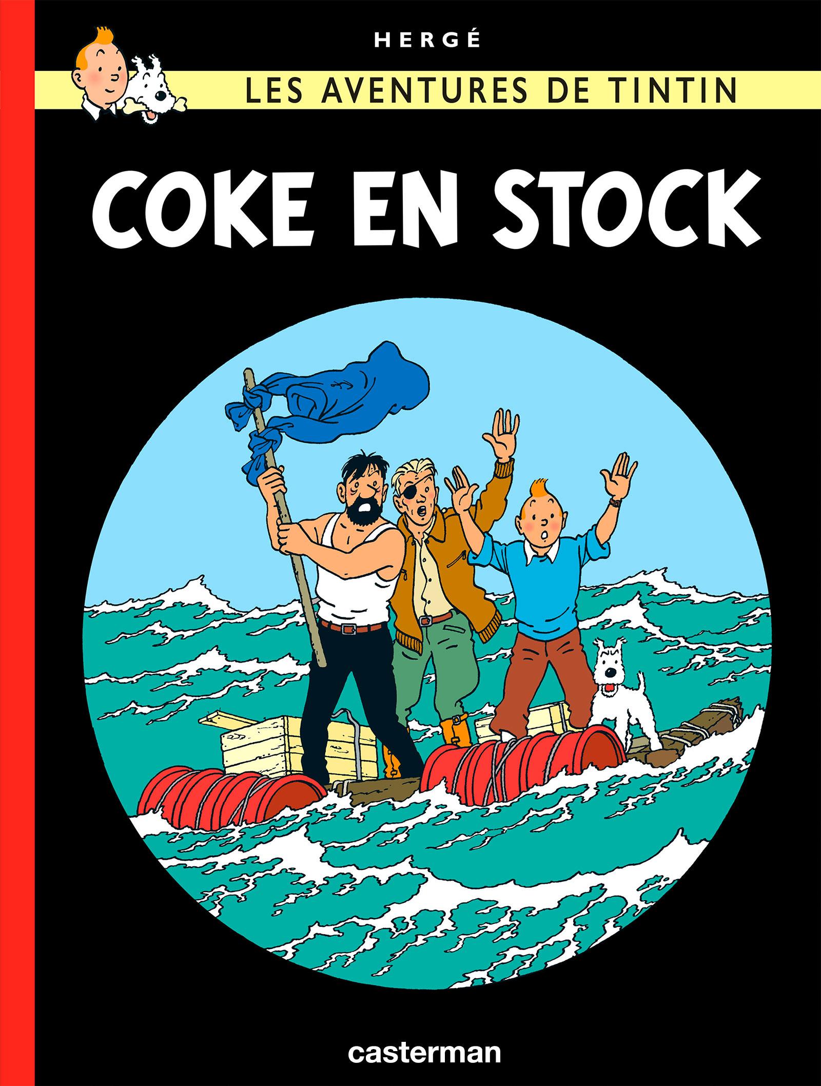 Coke en stock par Hergé