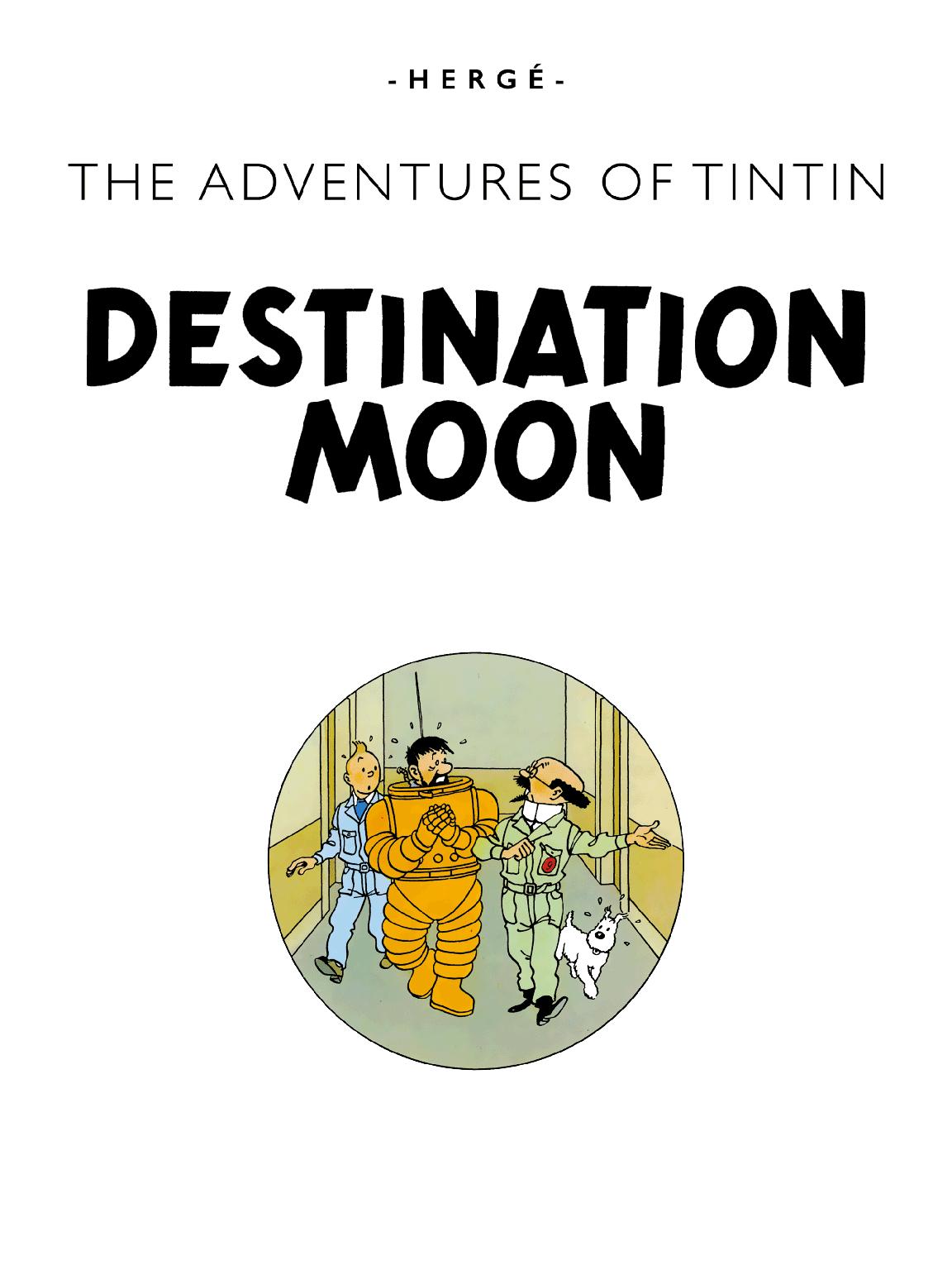 Destination Moon - Title page