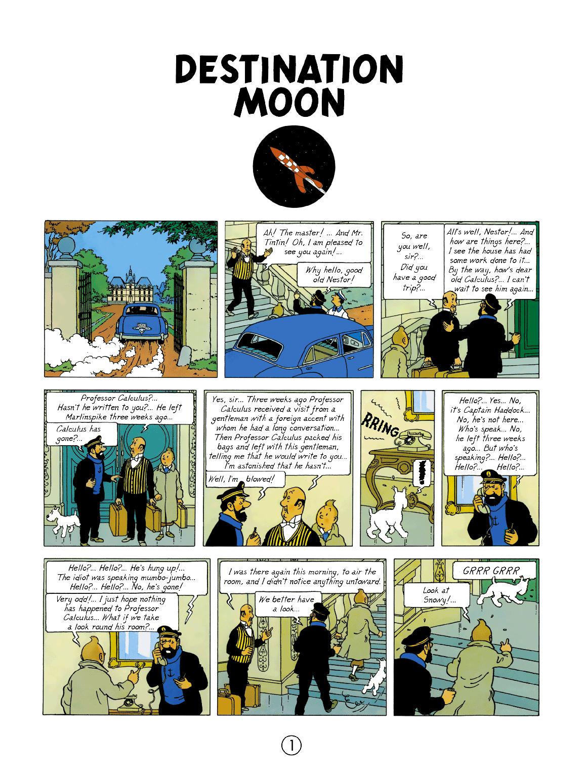 Destination Moon - Page 1