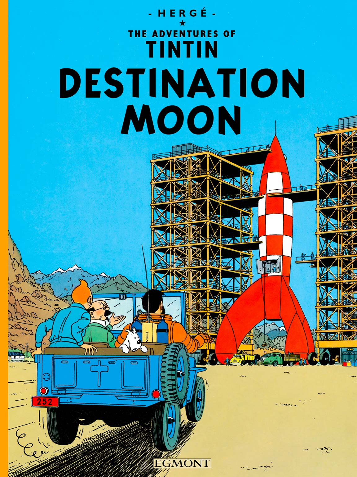 Destination Moon - Cover