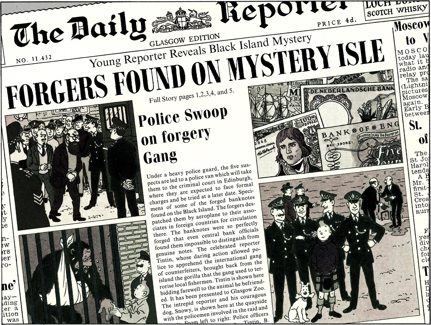 The Black Island - Daily Reporter