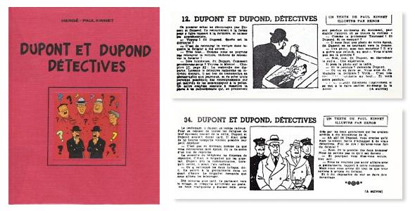 Couverture de Dupont et Dupond détectives