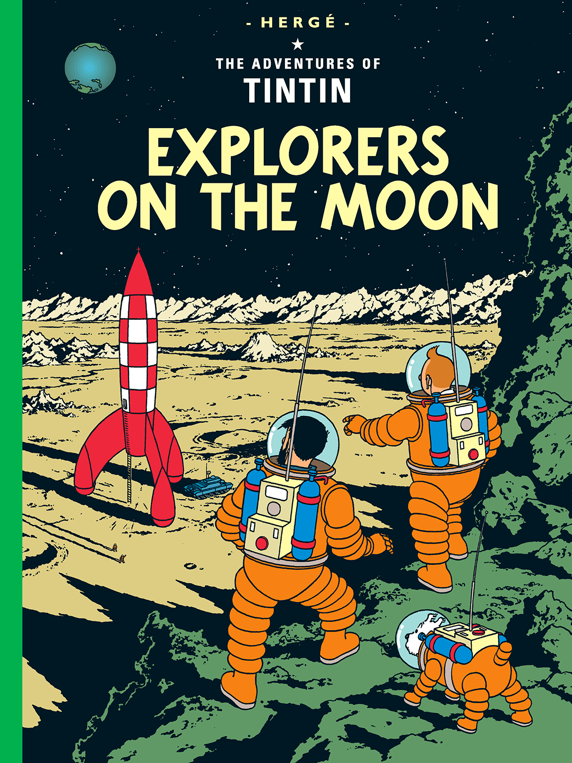 Explorers on the Moon - Cover