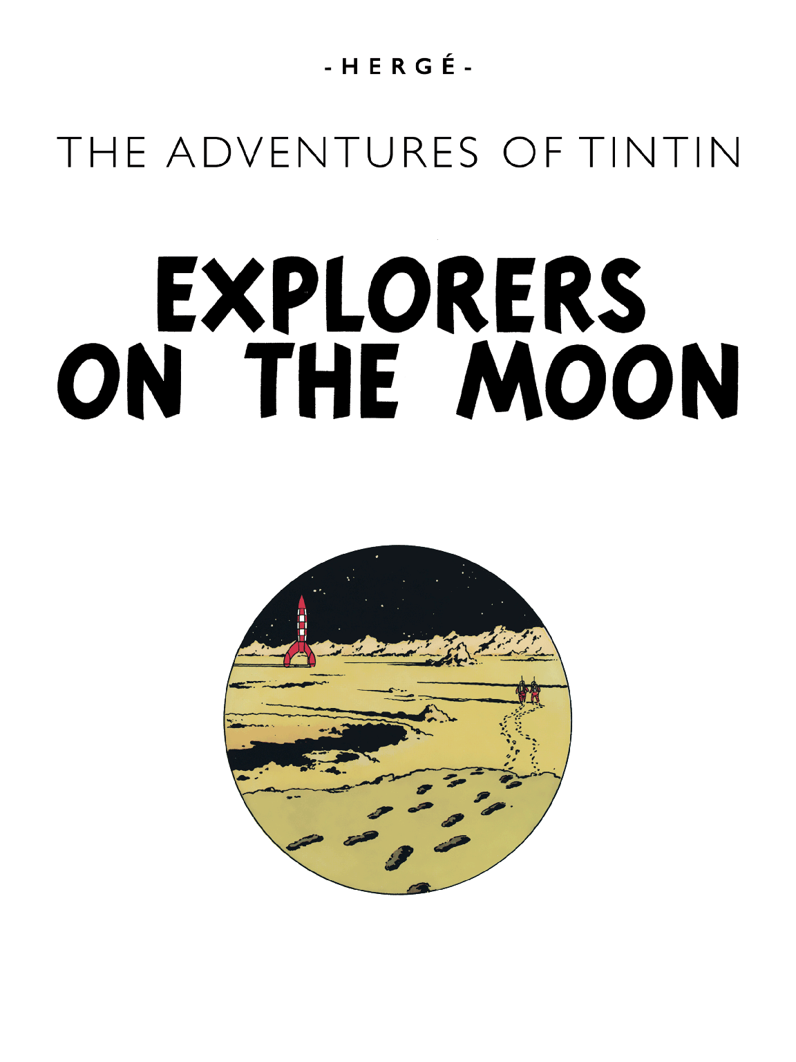 Explorers on the Moon - Title page