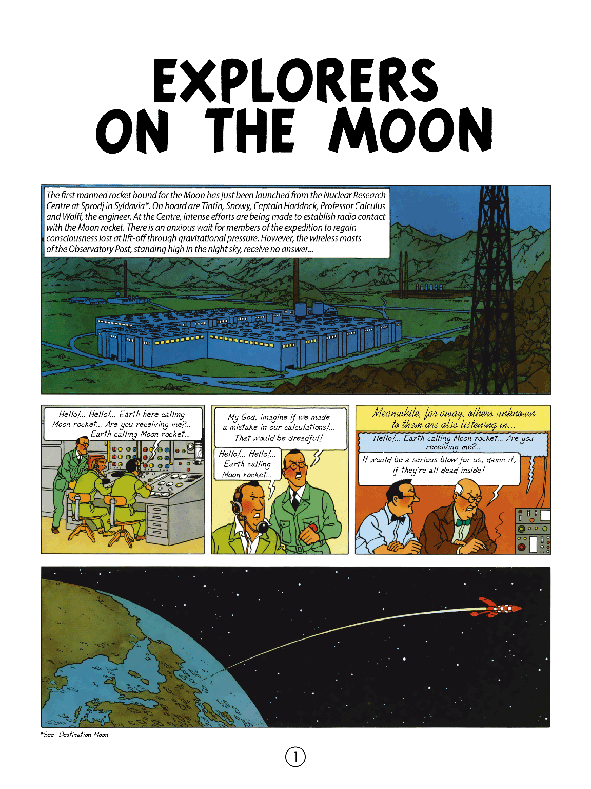 Explorers on the Moon - Page 1