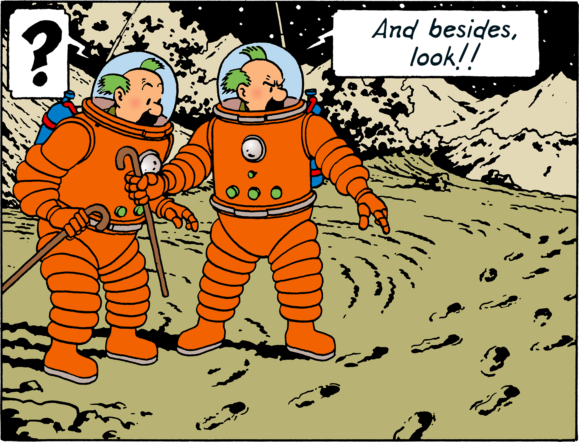 Explorers on the Moon - Thomson and Thompson