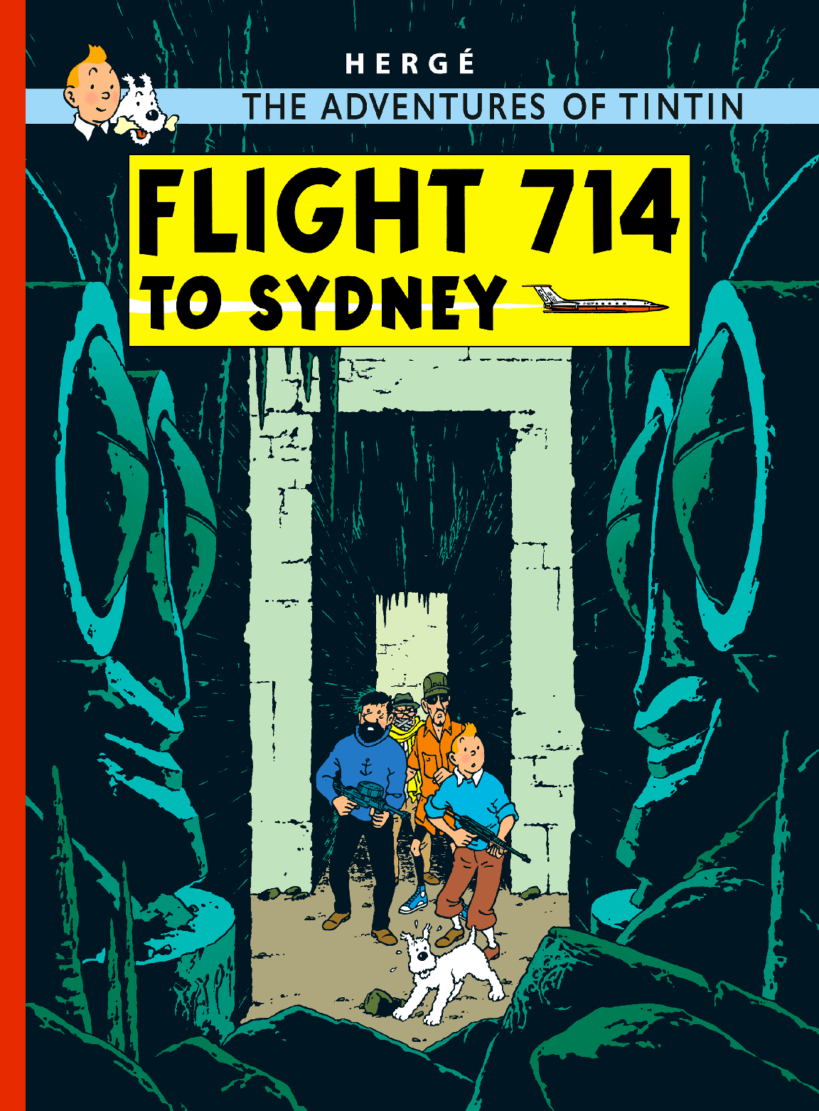 Flight 714 to Sydney cover
