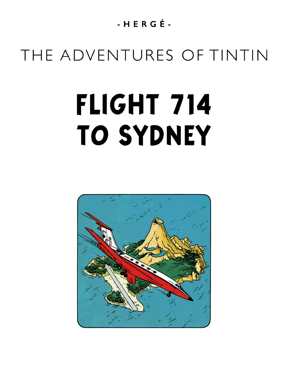 Flight 714 to Sydney - title page