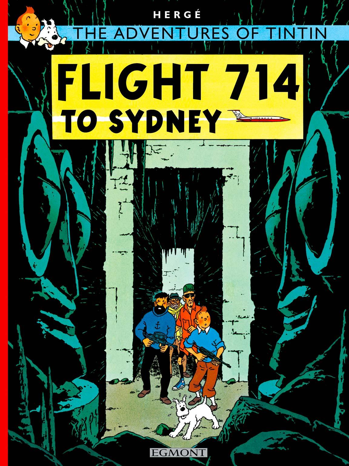 Flight 714 to Sydney cover