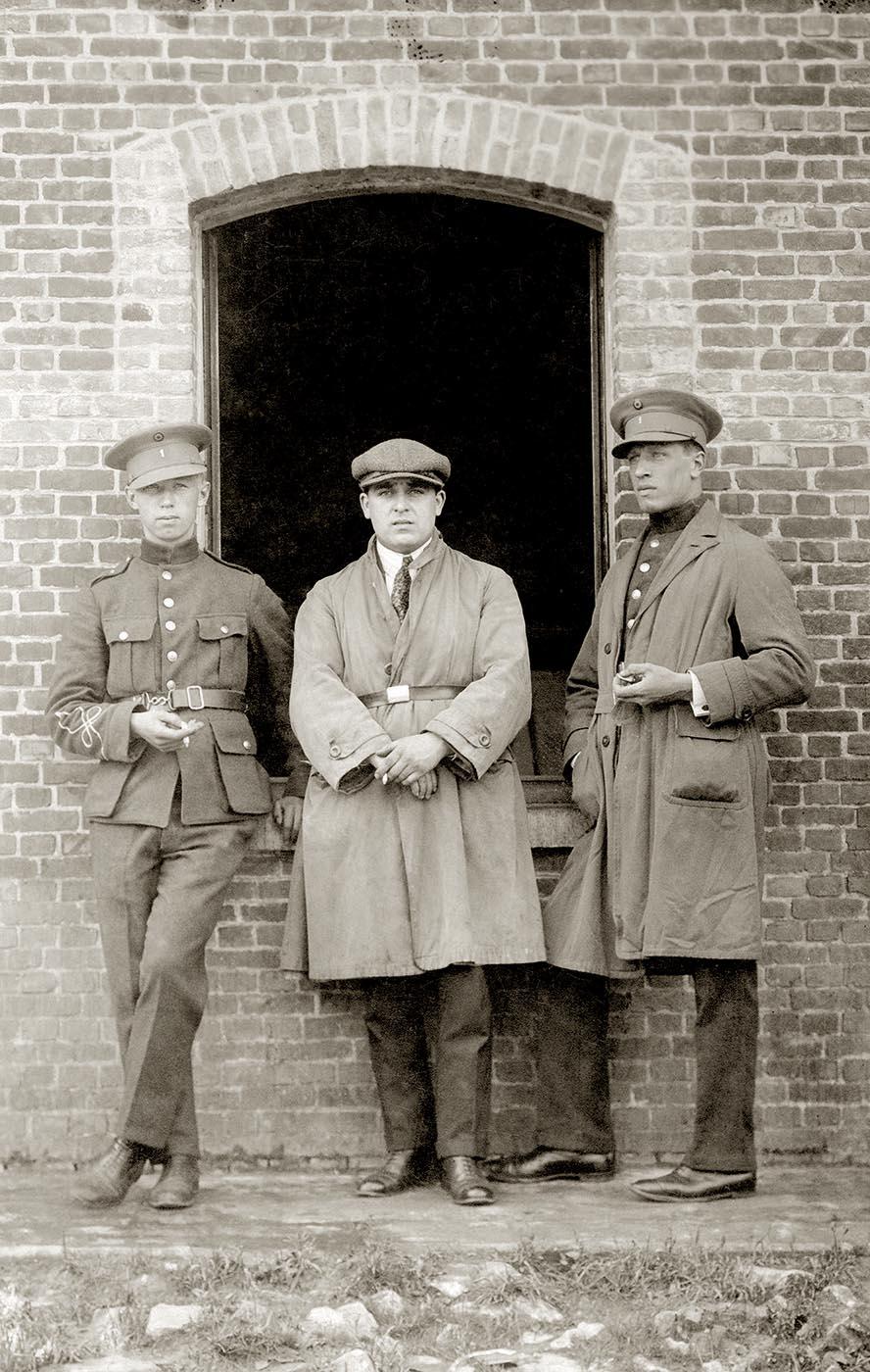 Hergé militaire en 1926