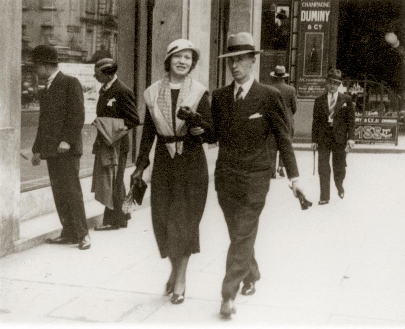 Hergé and Germaine in 1932