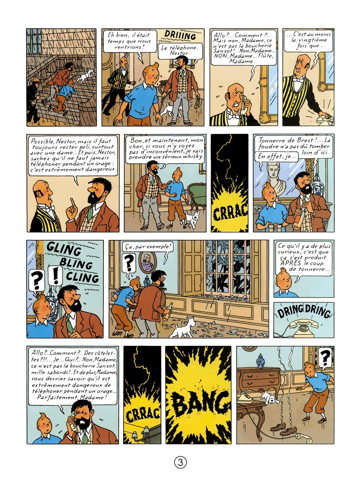 L'Affaire Tournesol - page 3