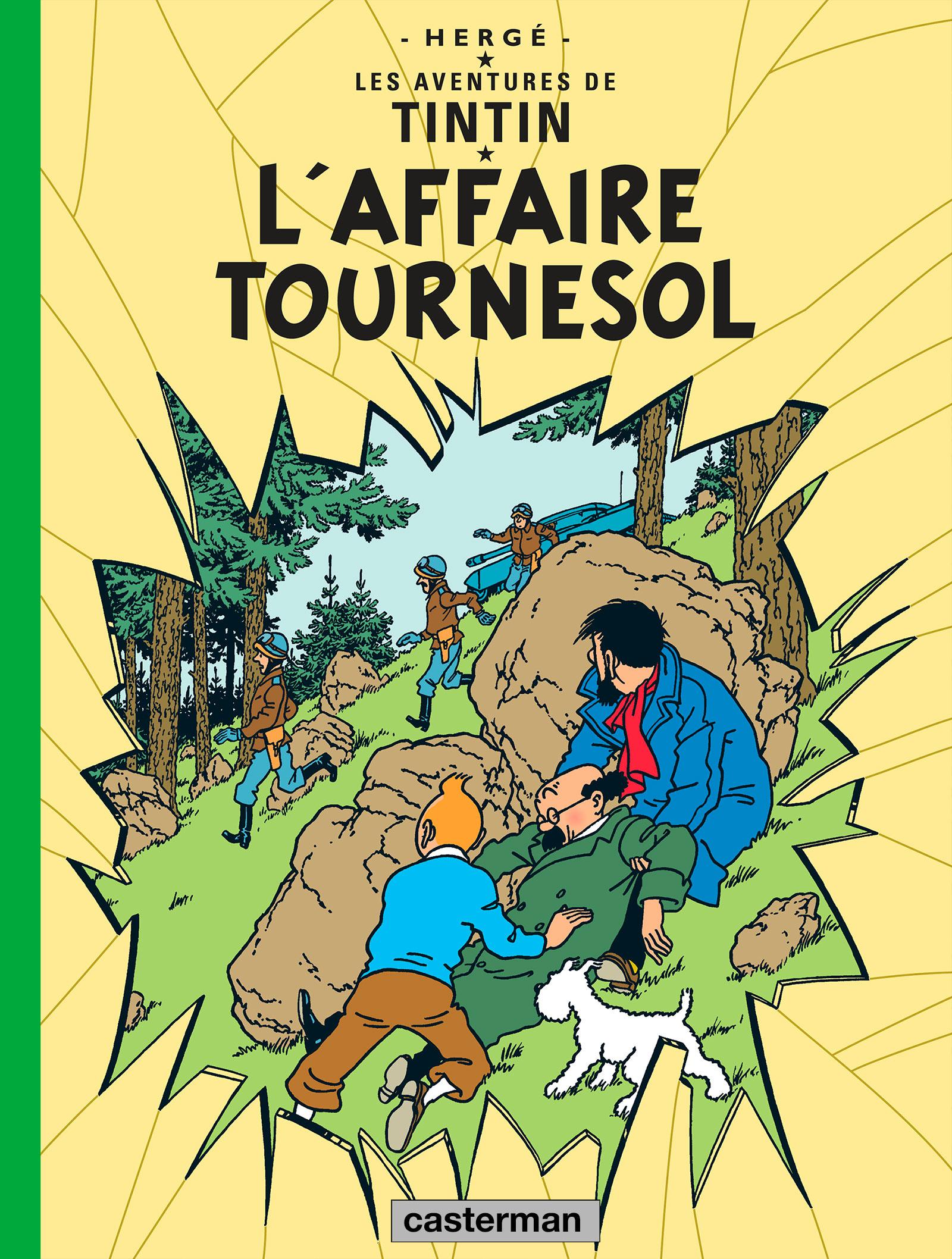 L'Affaire Tournesol par Hergé