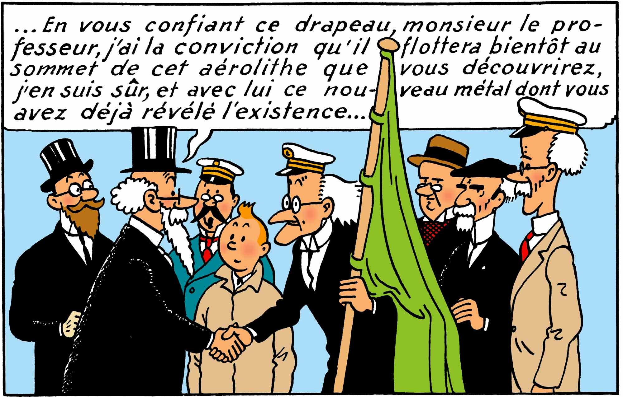 Tintin - Les Aventures de Tintin - L'Etoile Mystérieuse