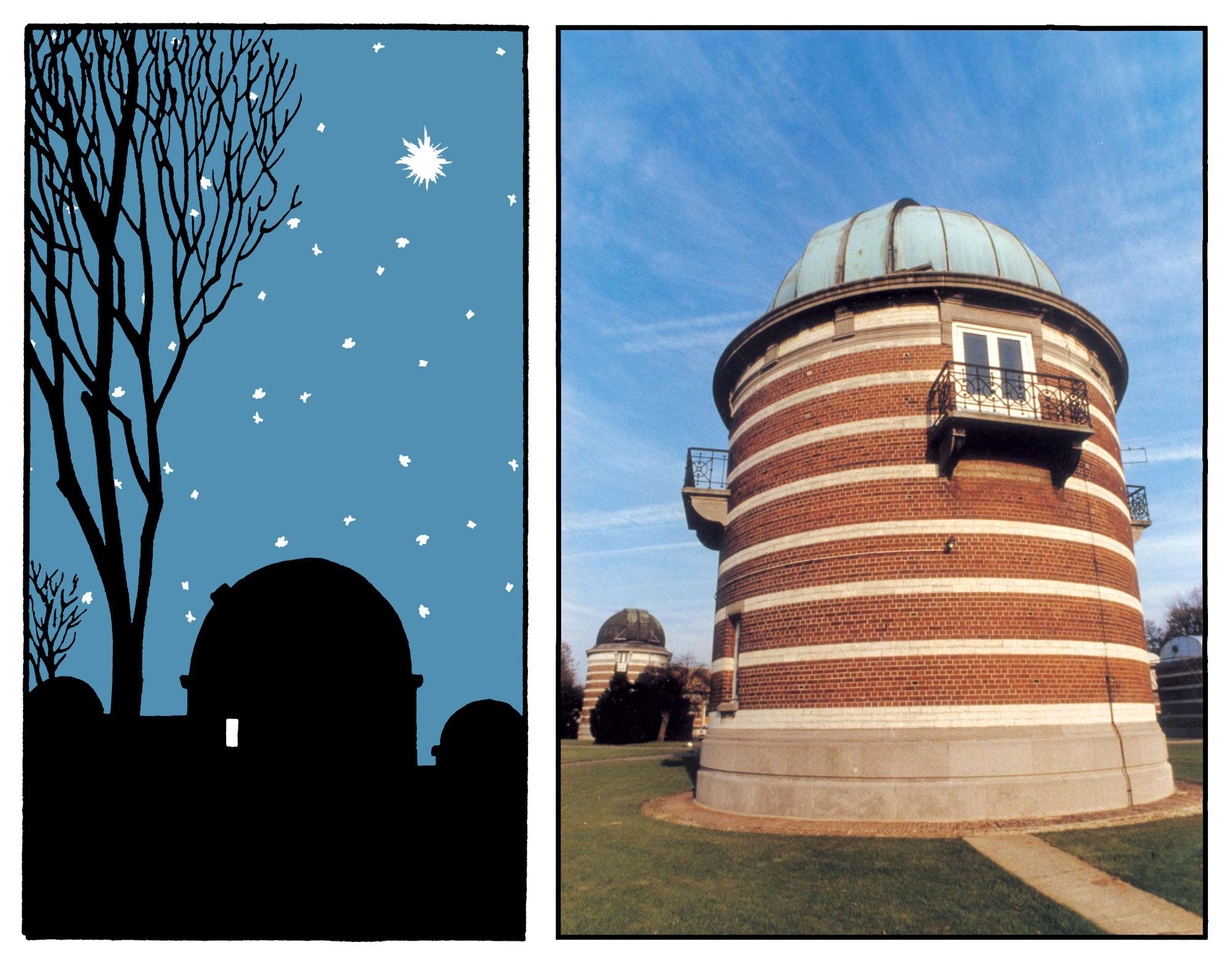 L'Etoile Mystérieuse observatoire