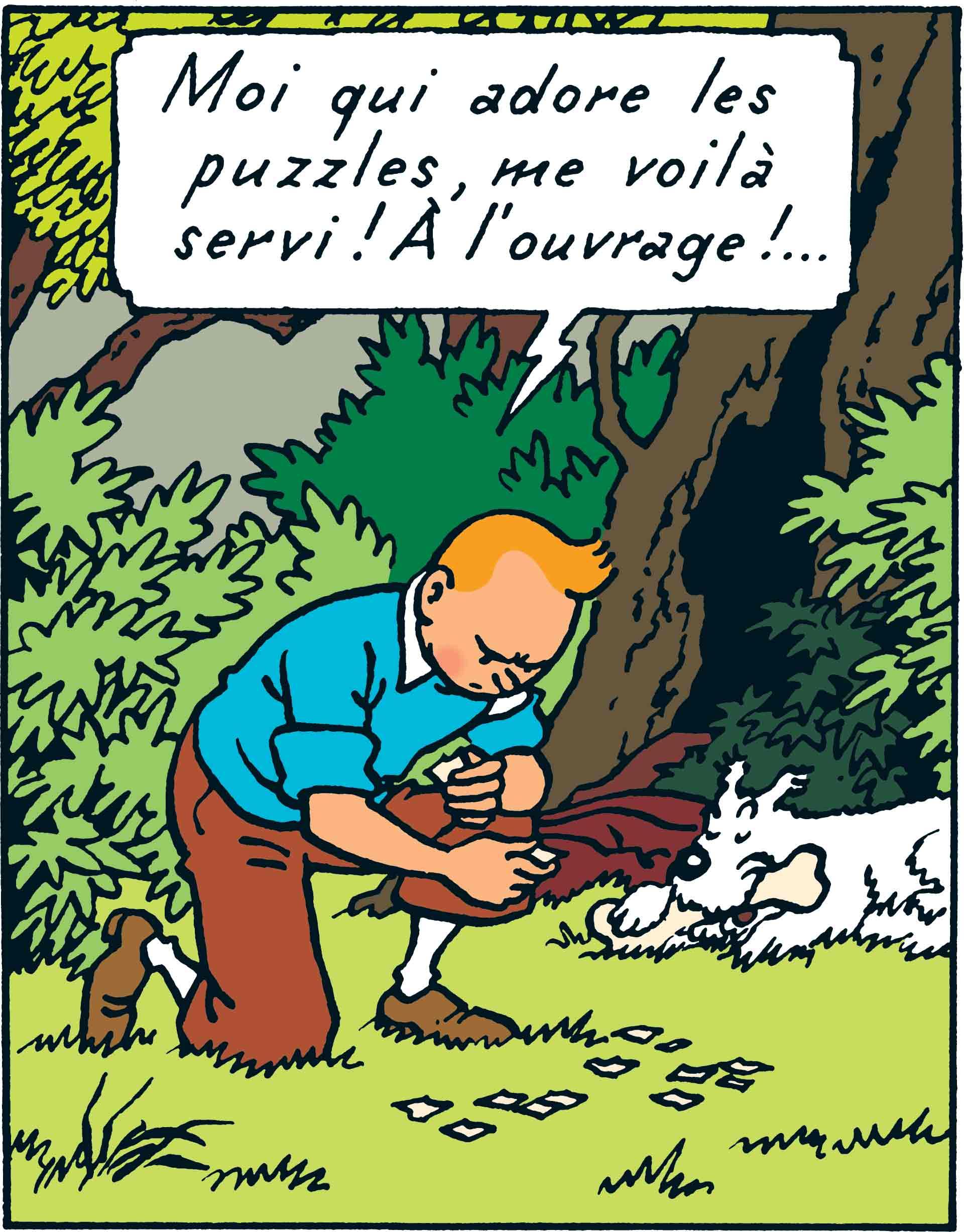 Les Aventures de Tintin - Île Noire - Tintin et Milou
