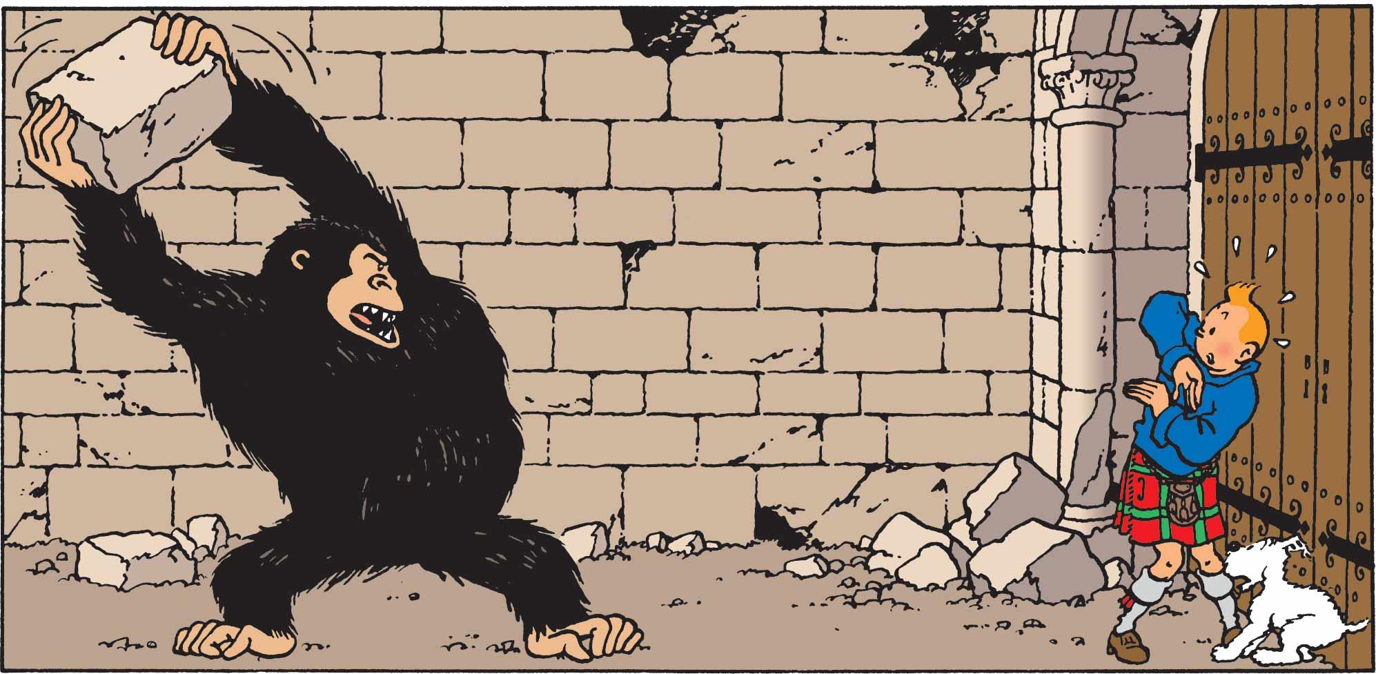 Tintin - Les Aventures de Tintin - Personnage Gorille Ranko