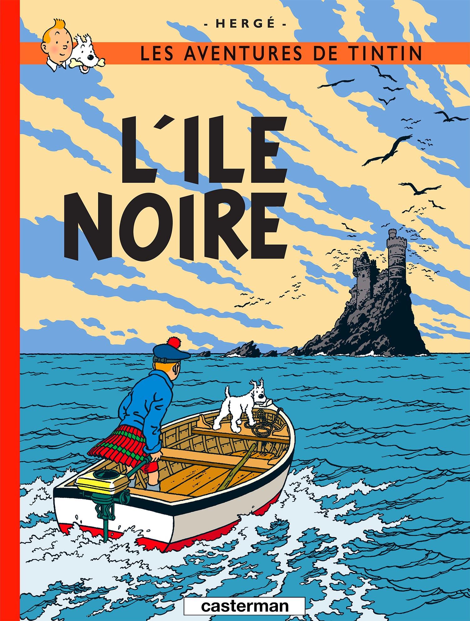 L'Île Noire par Hergé