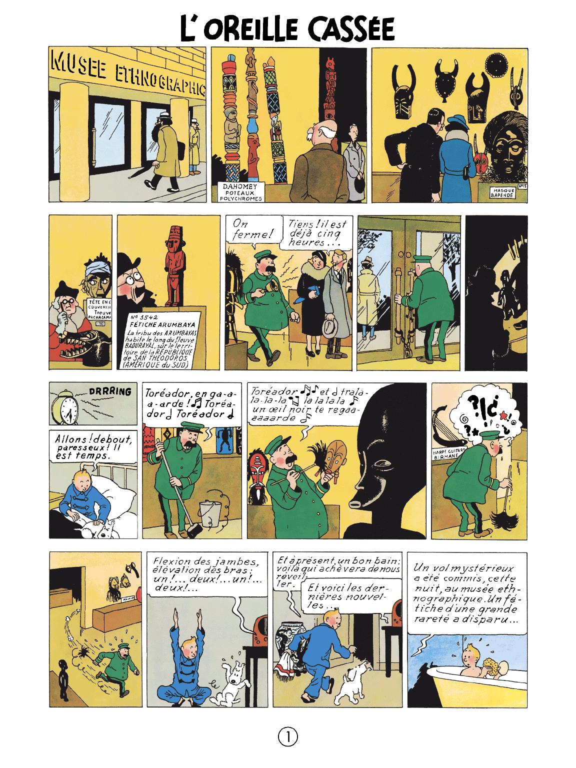 L'Oreille cassé - page 1