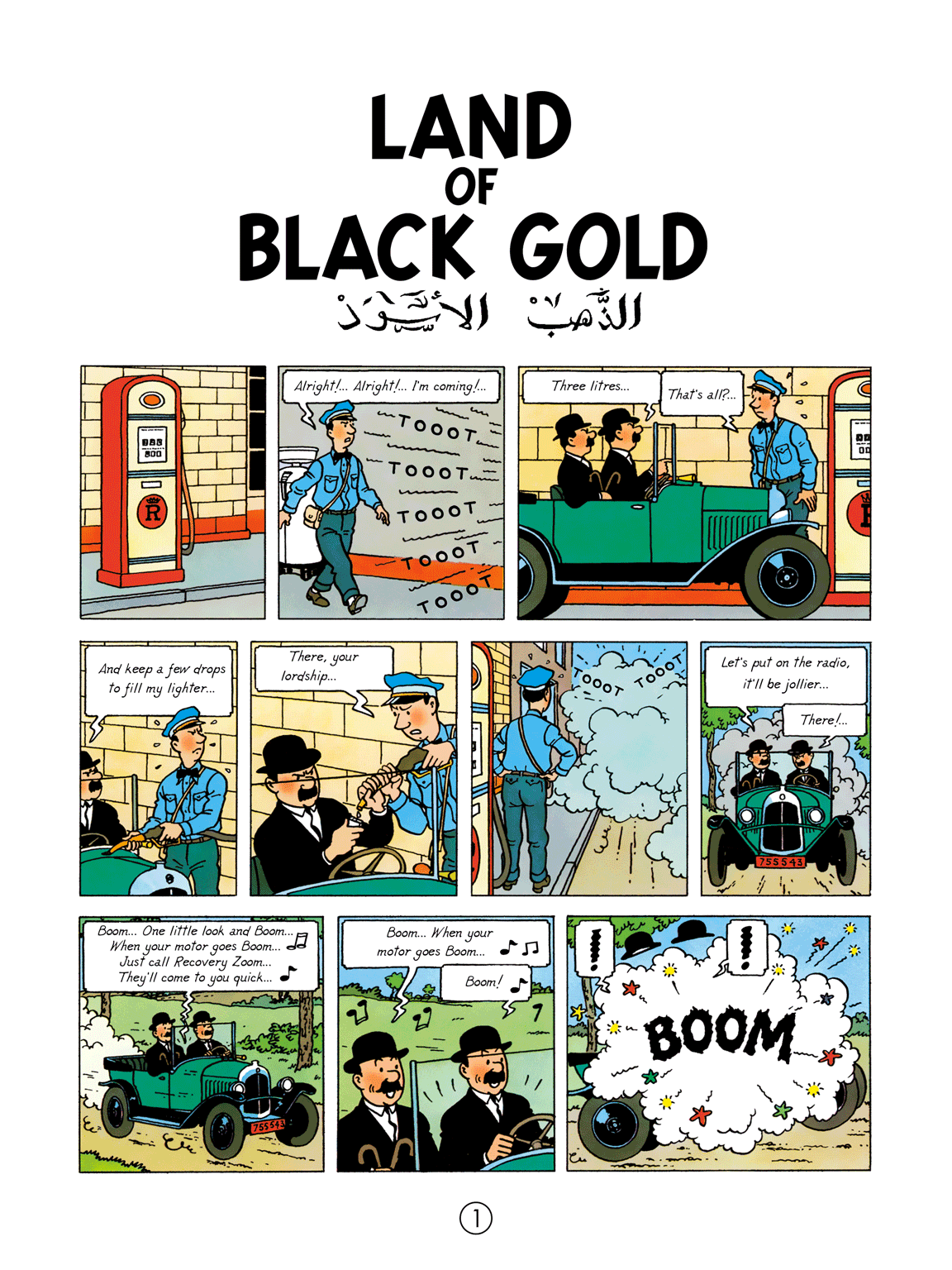 Land of Black Gold - Page 1
