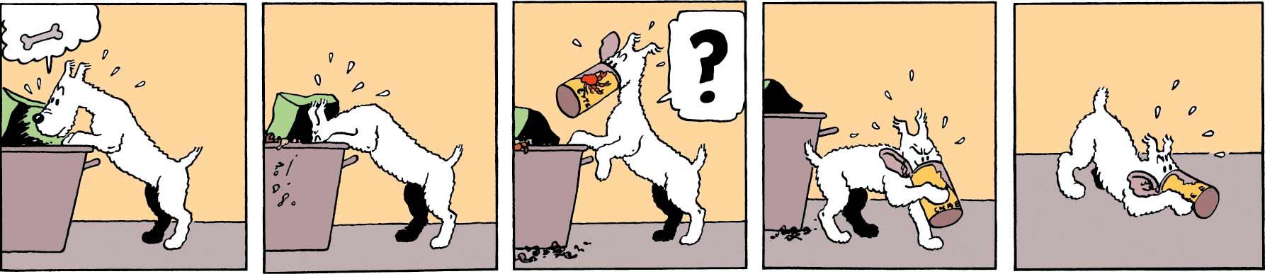 Tintin - Les Aventures De Tintin - Le Crabe Aux Pinces d'or - Milou