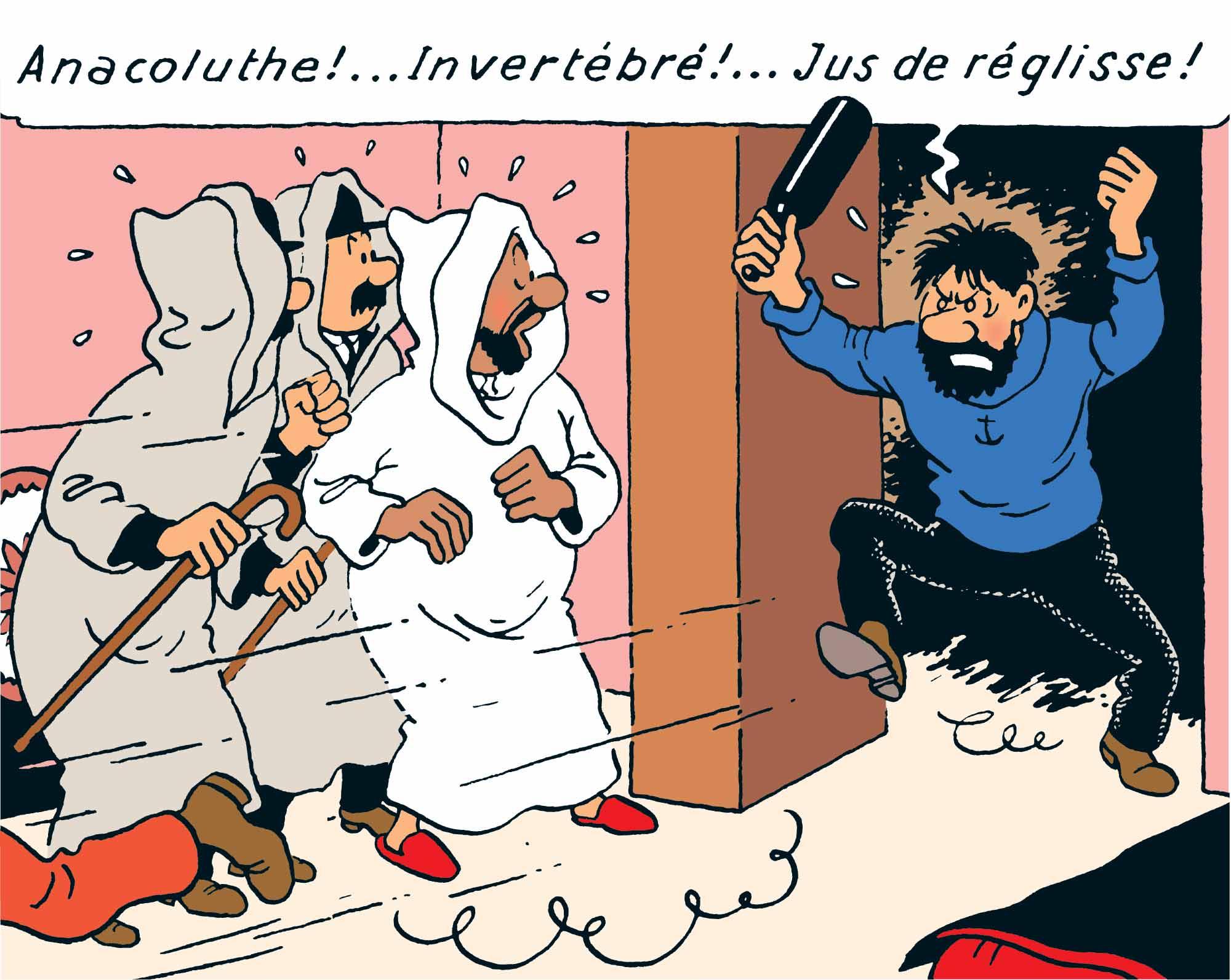 Tintin - Les Aventures De Tintin - Le Crabe Aux Pinces d'or - Le Capitaine Haddock