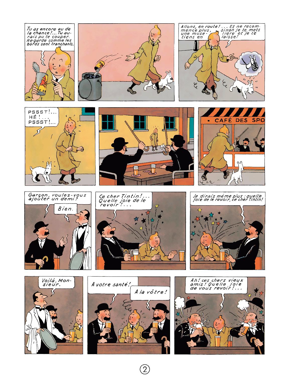 Le Crabe aux pinces d'or - page 2