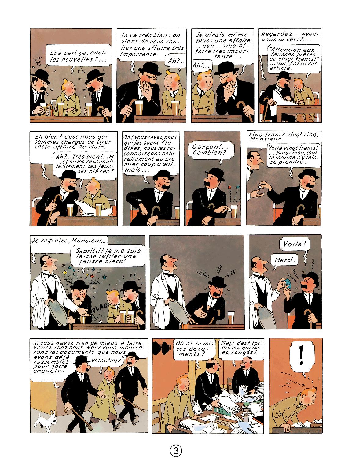 Le Crabe aux pinces d'or - page 3