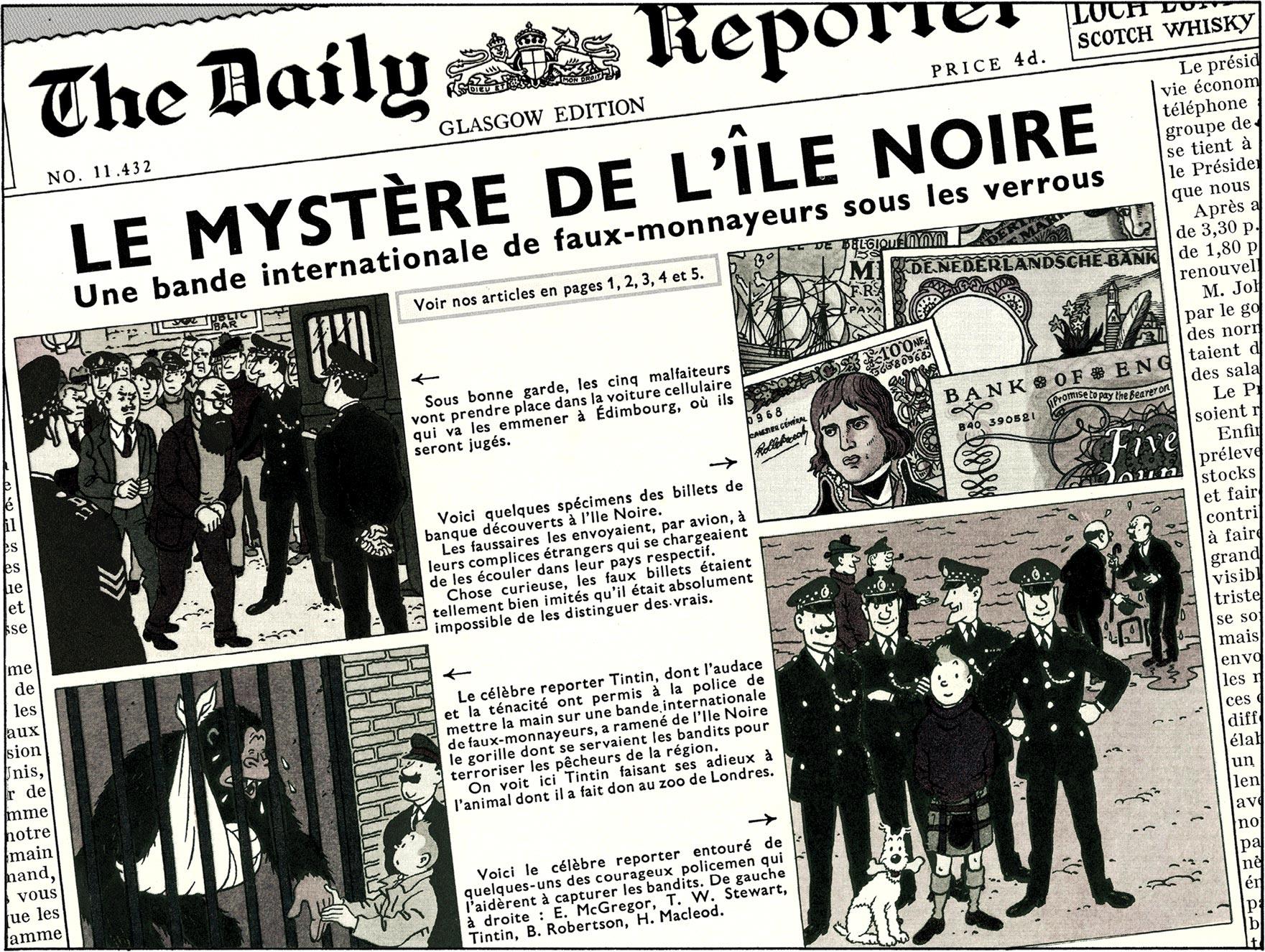 L'Île Noire - Daily Reporter