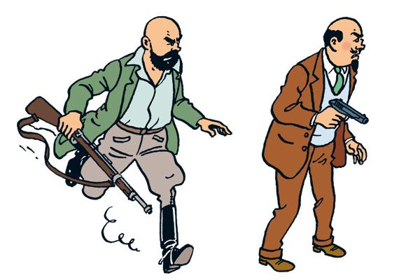 Tintin - Les Aventures de Tintin - Personnage Müller