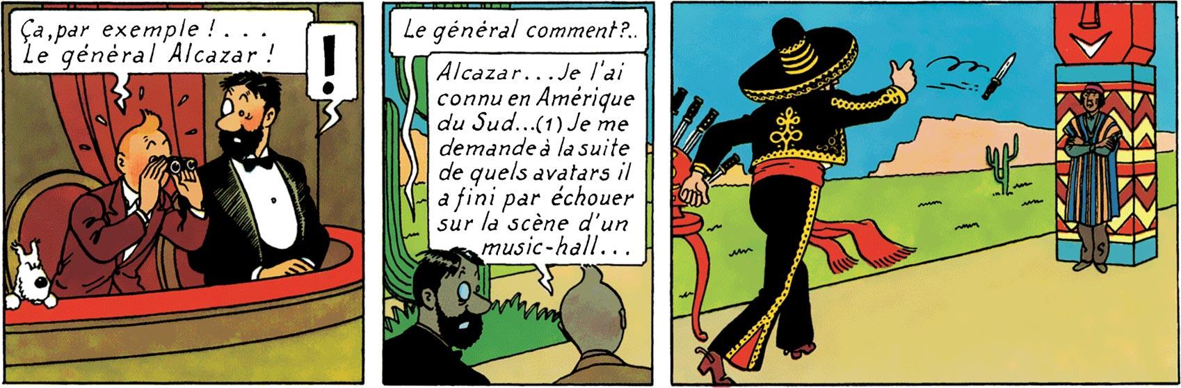 Le Général Alcazar est Ramon Zarate dans Les 7 Boules de cristal