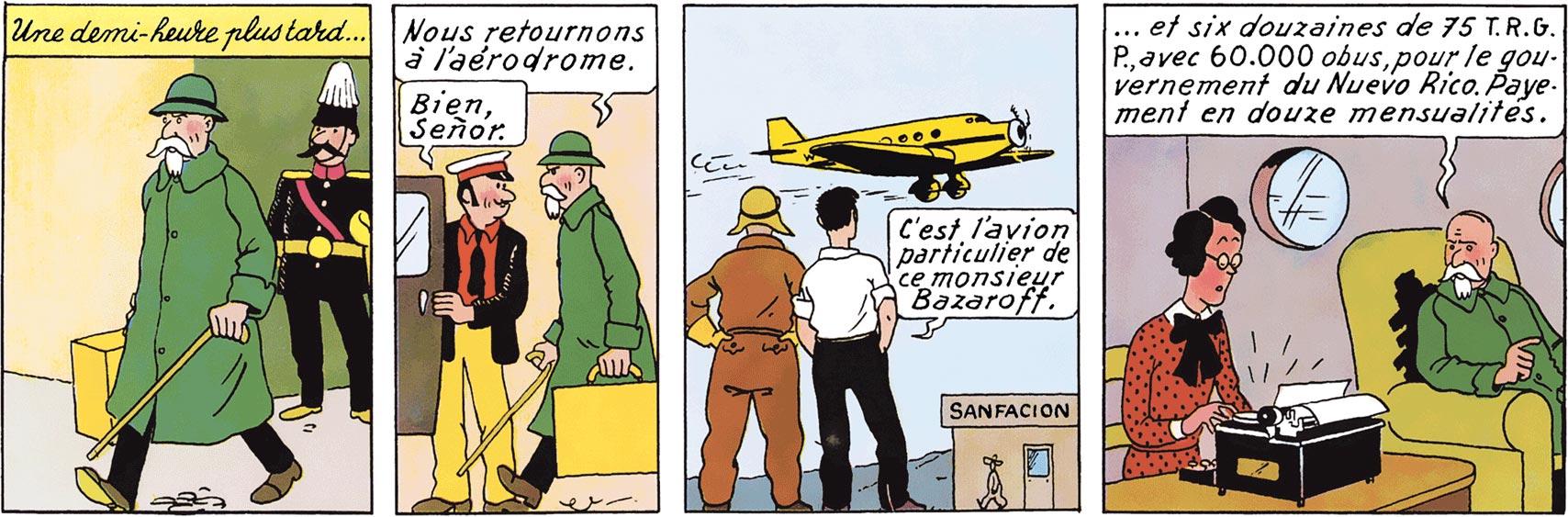 Basil Bazaroff dans L'Oreille cassée